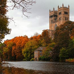 Durham Cathedral and the river
