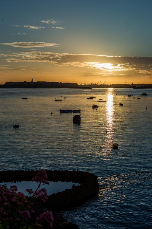 Sunrise over St Malo