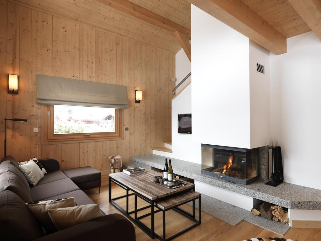 Luxury chalets, winter or summer