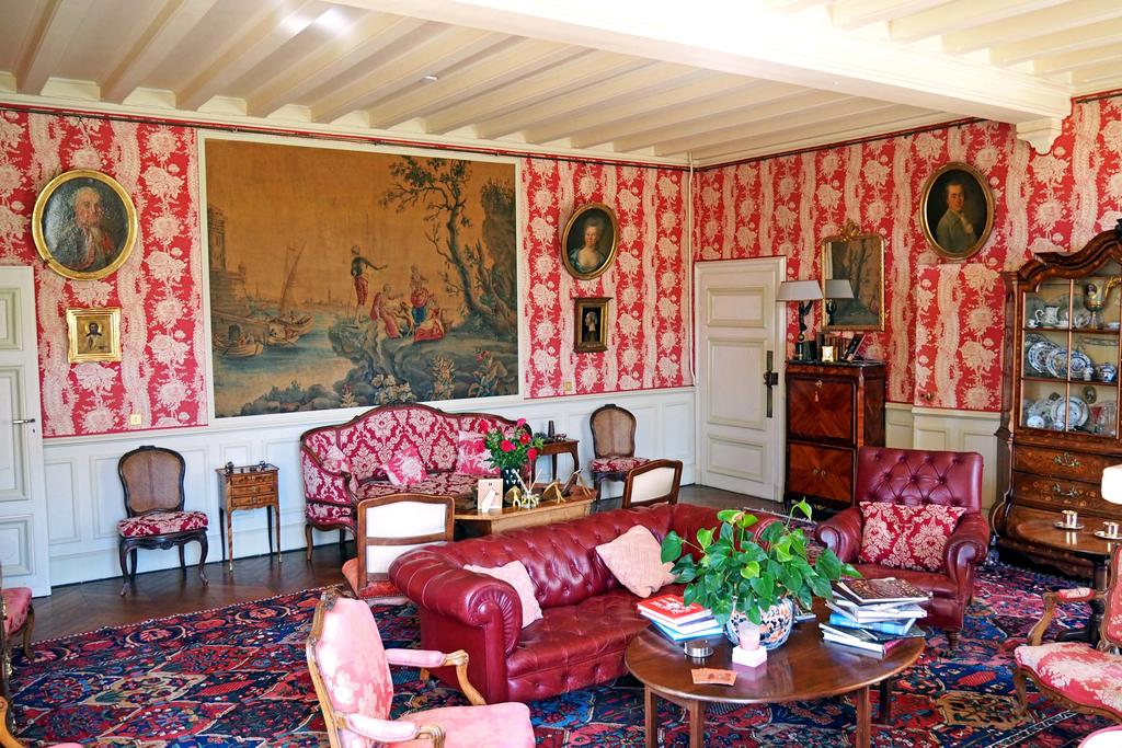 Pink Drawing Room, Chateau de la Barre