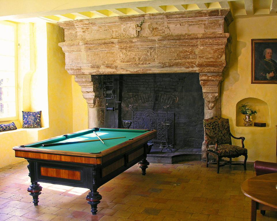 Piece au Feu Billiard Room