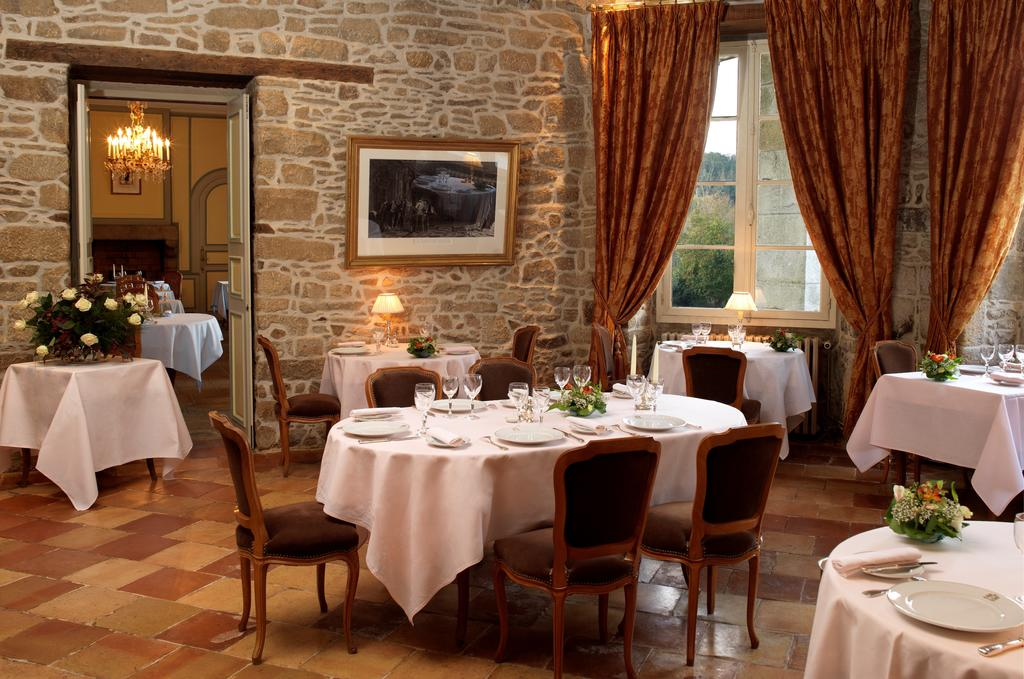 Restaurant at a chateau hotel