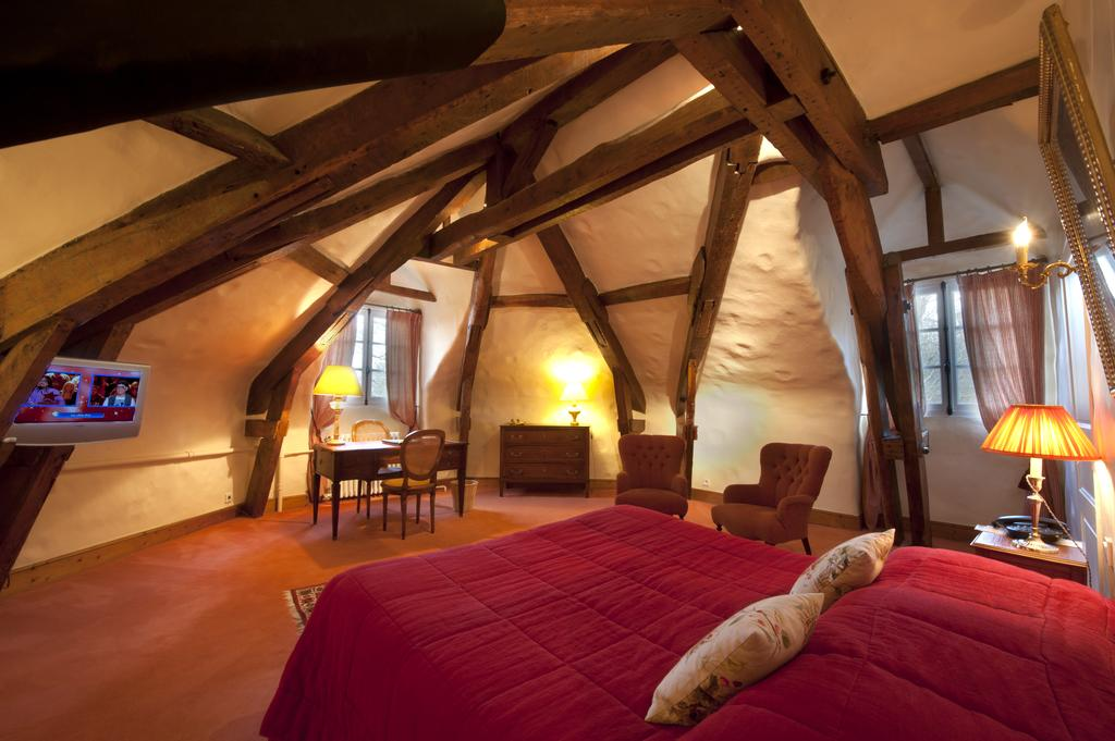 Wooden beams, junior suite