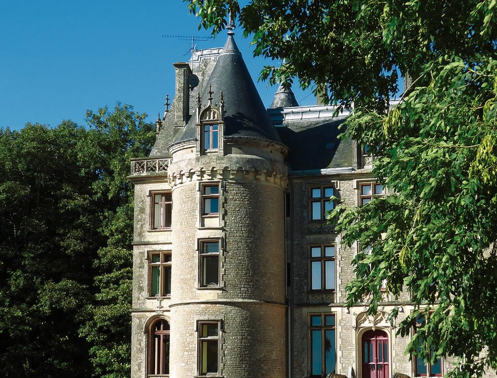 Chateau hotel, Normandy