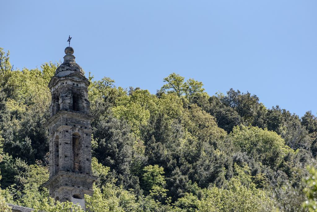 Pastoreccia church tower