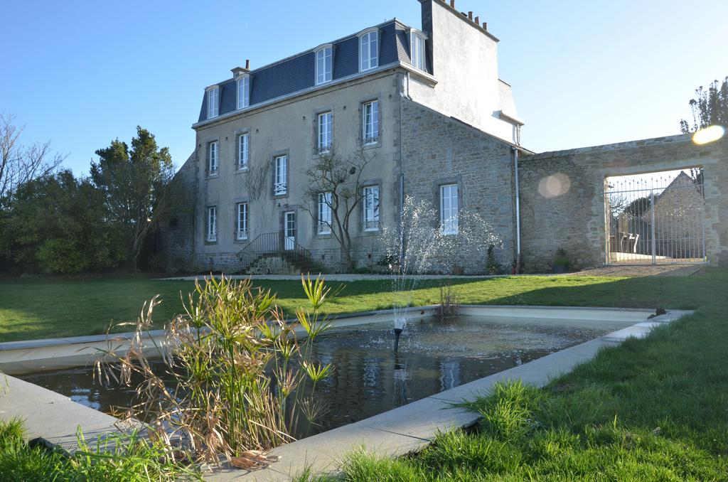 Brittany country house hotel, garden