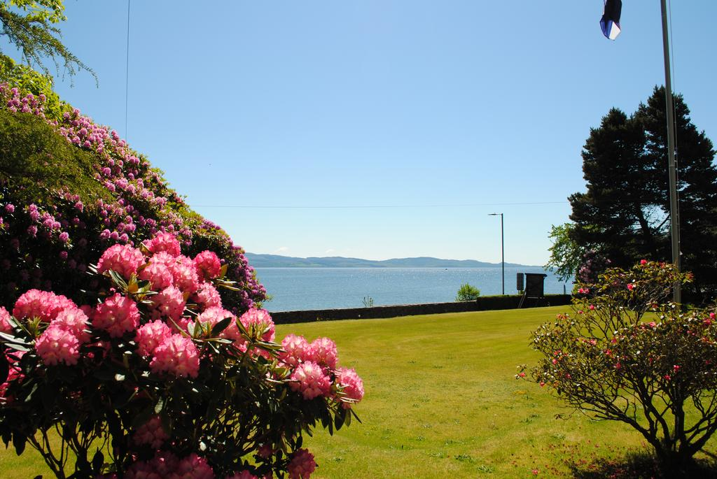 Garden view of Loch Fyne