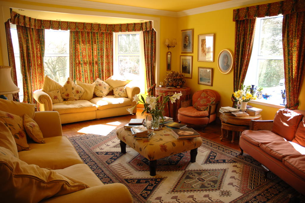 Drawing room, country house hotel
