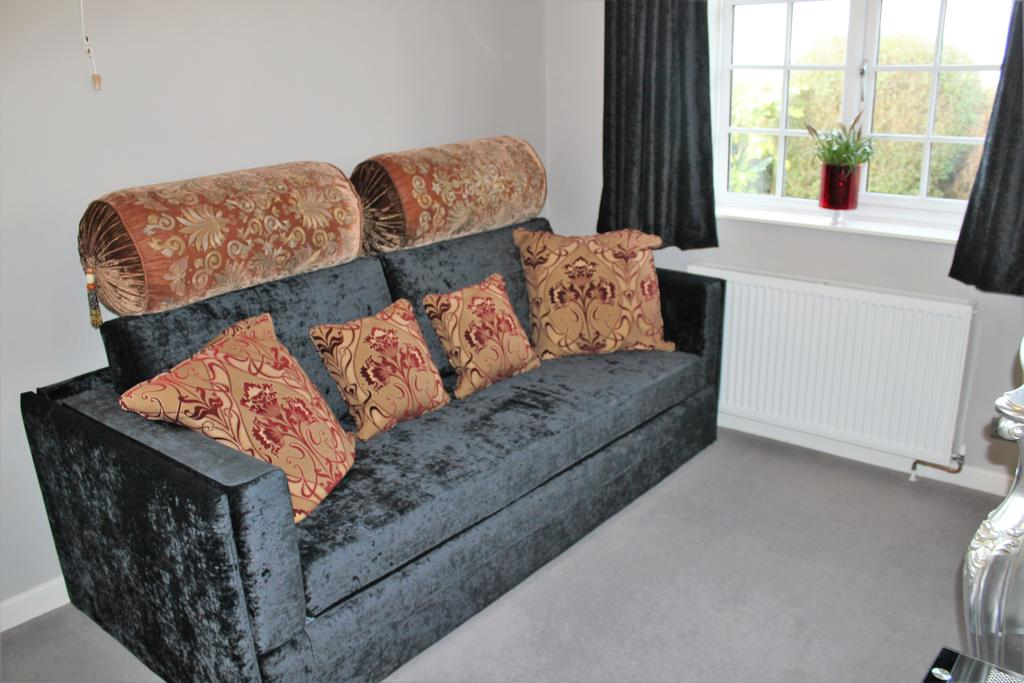 Private sitting room with sofa bed