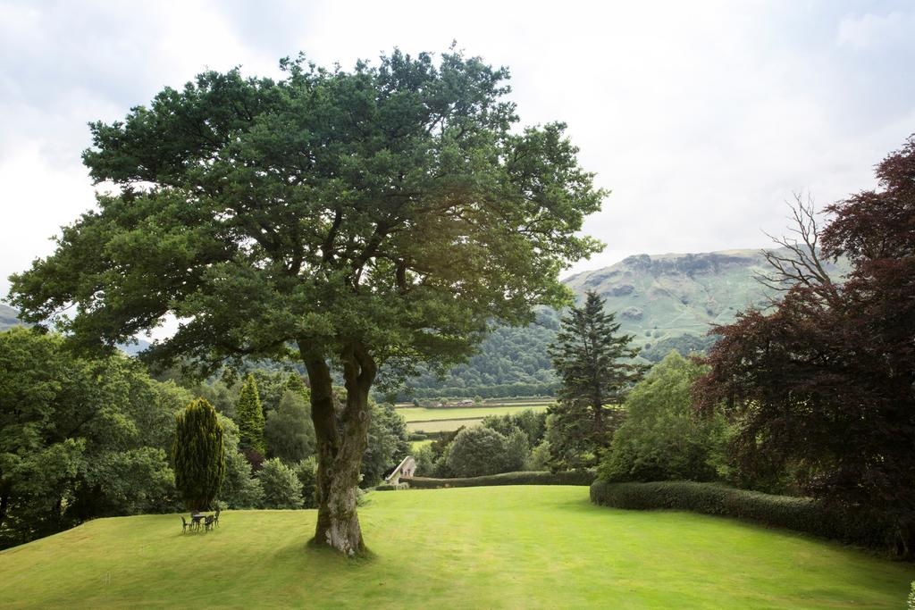 Hotel grounds, Lake district