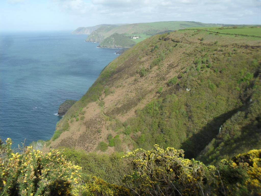 Cliffs above Heddon's Mouth