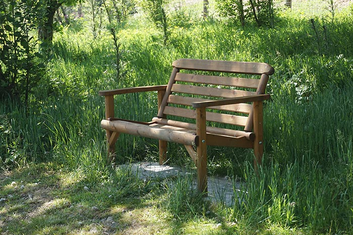 Seat in the woods