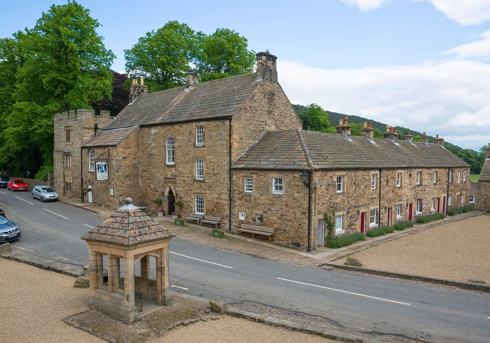 Lord Crewe Arms village pub and hotel