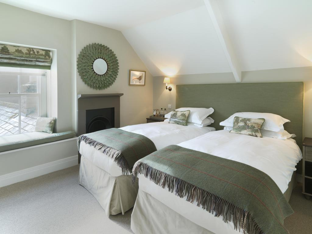 Twin room, Lord Crewe Arms hotel
