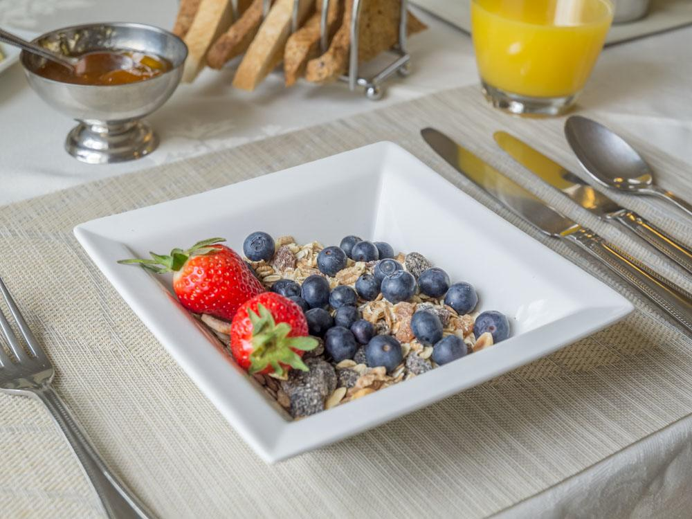 Fruit and Muesli
