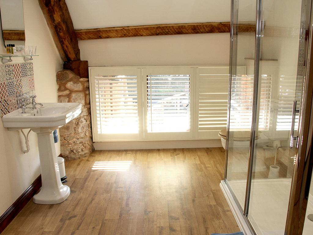 En-suite, walk-in shower
