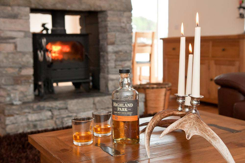 Whisky by the fire