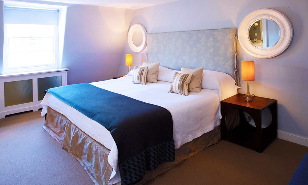 Superior Double Room, Queensberry Hotel