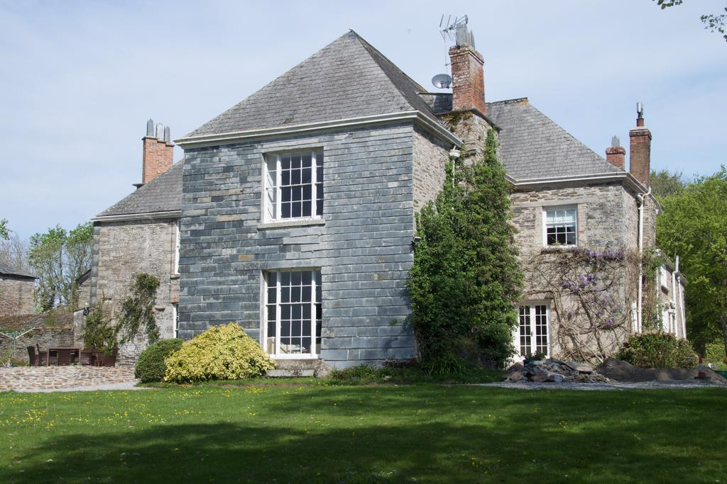 Traditional stone manor house
