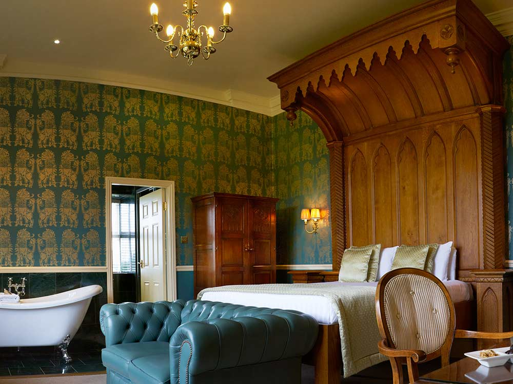 Luxury double room, country house hotel
