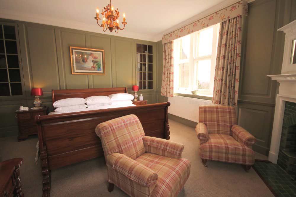 Deluxe double room, Yorkshire hotel