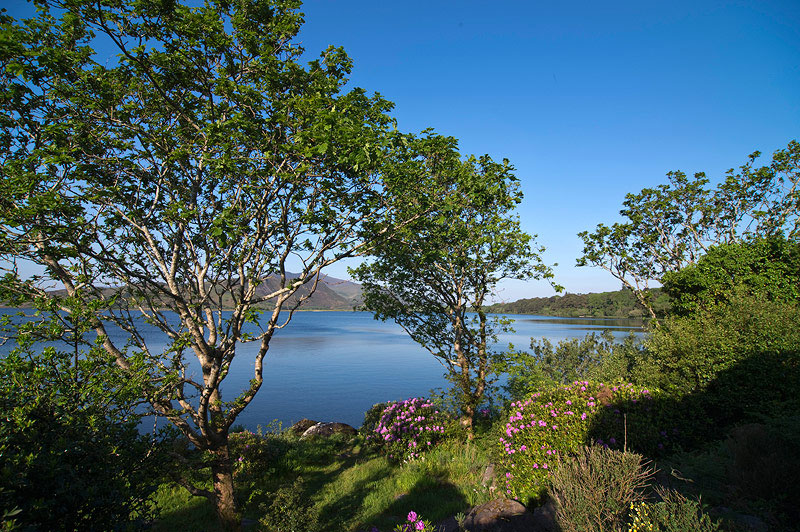 Carrig Country House gardens and lake